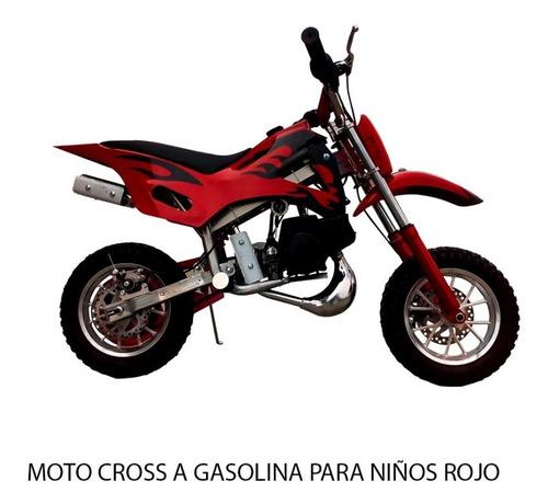 motos y cuadrones 50cc para niños a gasolina