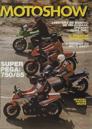 motoshow n°27 yamaha fz suzuki gsx-r honda vf-f ninja zx 750