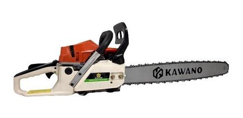 motosierra 2 tiempos kawano kw-381 52cc 22 pulg