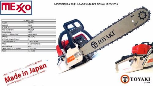 motosierra 20 pulgadas profesional japonesa, lanzamiento