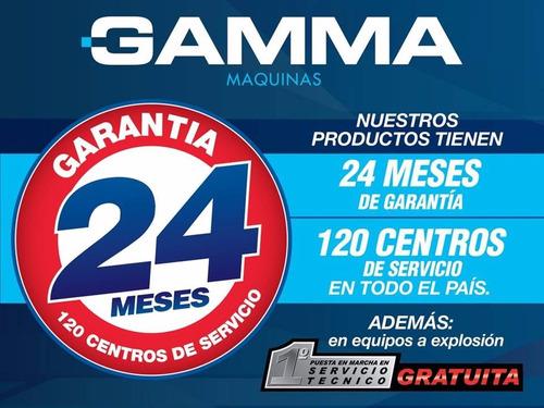 motosierra 22'' 3,1hp 62cc freno cadena gamma super oferta !