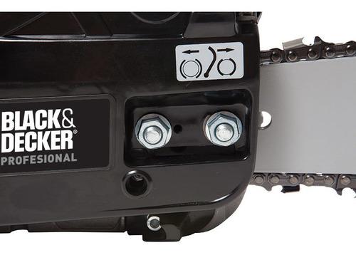 motosierra a explosion nafta 45cc ggk45-b3 black + decker