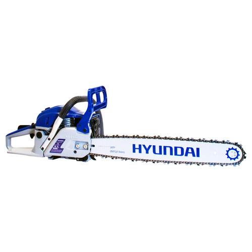 motosierra a gasolina hyundai hym5622 de 3.6 hp 22 pulgadas