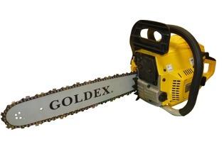 motosierra a nafta 16  0km. 45cc. goldex garden