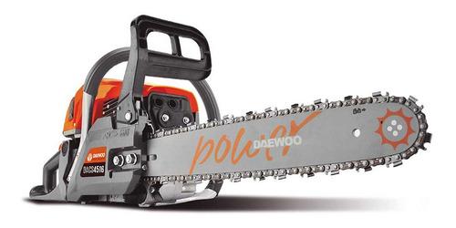 motosierra daewoo 4516 45cc 16  2.5hp pequeña potente corean