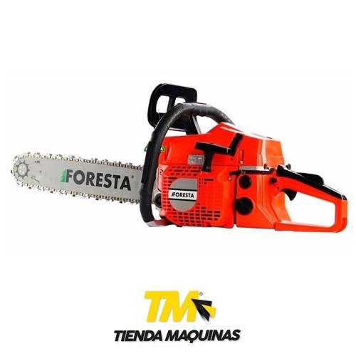 motosierra foresta 52 cc espada 20  (50 cm) + casco regalo