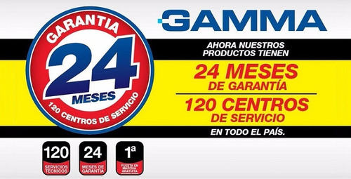 motosierra gamma 9027ar 45cc 18 nafta 45cm super oferta !!