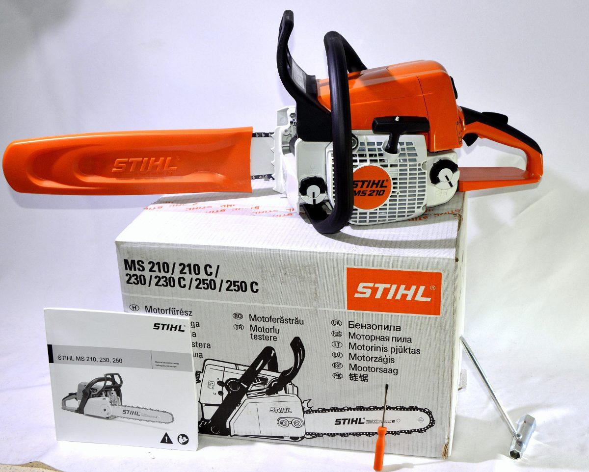 Motosierra Stihl Ms 210 Profesional Garantia0ficial Aceite Cargando Zoom