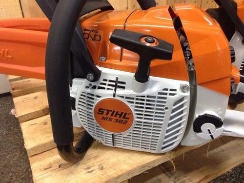 motosierra stihl ms 382 para uso profesional nueva + aceite