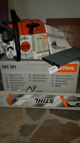 motosierra stihl ms381 original nueva