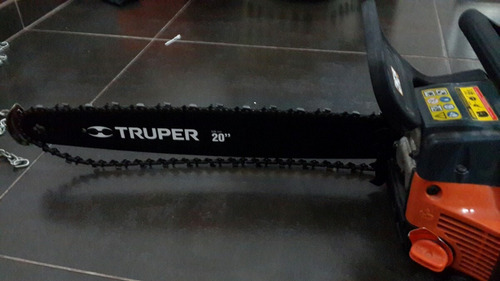 motosierra  truper 20 pulgadas nueva