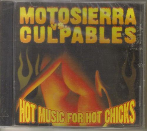 motosierra vs culpables ( punk uruguay argentina) cd rock