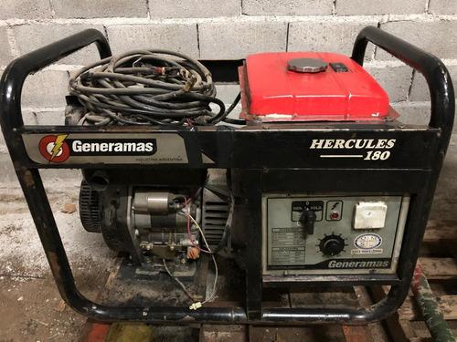 motosoldadora generador generamas hercules 180