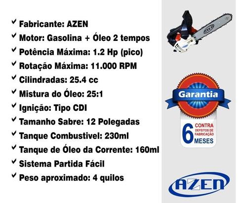 motosserra 26cc moto serra gasolina completa a melhor !