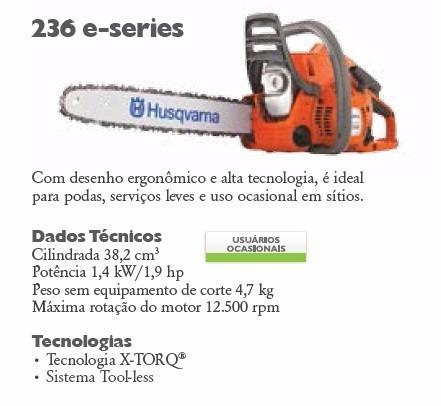 motosserra husqvarna 236e funciona mas qdo se acelera p ra r rh produto mercadolivre com br Husqvarna Chainsaw 455 Rancher Manual Husqvarna 125B Blower Repair Manual