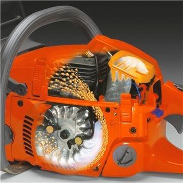 motosserra husqvarna 353 sabre 18 pol 36 dentes 51,7cc 3,2hp profissional e leve 5kg