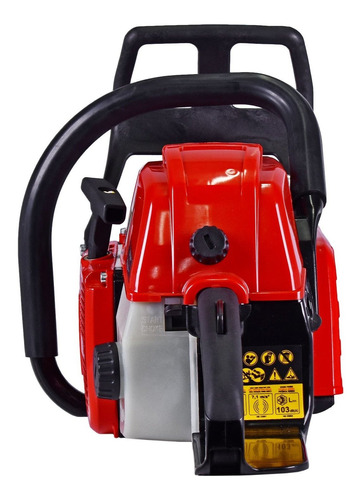 motosserra profissional a gasolina 72,2cc tcs72xp16at toyama