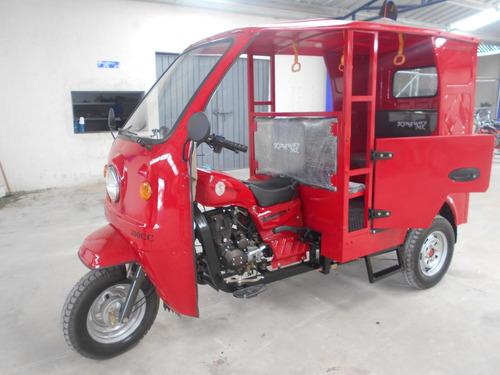 mototaxi de gasolina con puertas  200cc  promocion