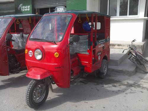 mototaxi de lujo con puertas  200cc  kingway mx