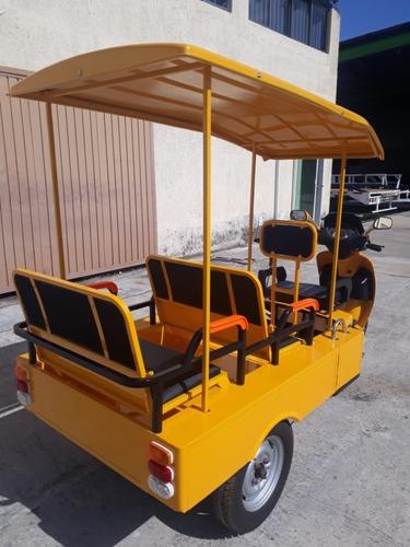 mototaxi para 4 pasajeros con techo nuevo
