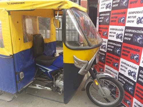 mototaxis semi nuevas modernas con radiador a credito