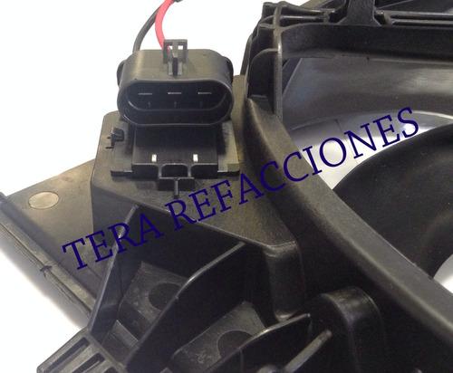 motoventilador completo original nuevo chevrolet sonic, trax