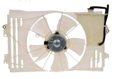 motoventilador toyota matrix 2003 - 2008 l4 1.8 l xkp