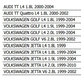 motoventilador volkswagen golf 1999 - 2004 l4 / v6 xkp
