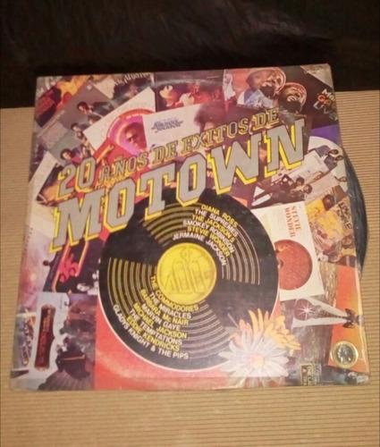 motown - lp - vinilo doble - un tesoro musical