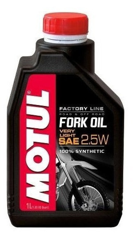motul fork oil factory very light 2.5w - 1l