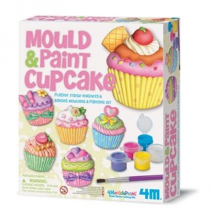 mould and paint cupcake 4m collagekidsar
