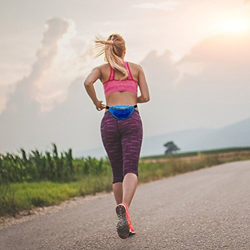 mounchain correa para correr para mujer a prueba de agua aju
