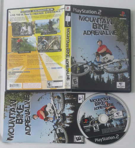 mountain bike adrenaline / playstation 2 ps2 * ver video