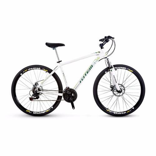 mountain bike aro 29 totem alumínio kit shimano 21v disco
