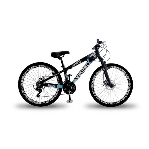 mountain bike vikingx tuff 25 freeride aro 26 freio a disco