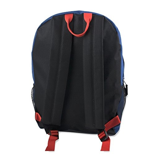 817d2dffb6b6 Mountain Edge Pop Color Zipper Backpack With Padded