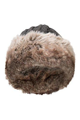 Mountain Warehouse Womens Furry Gorro De Invierno Suave Pelo ... 981d53beac1
