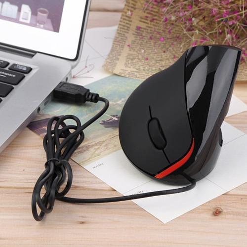 mouse 5d tunel carpiano vertical cable ergonómico caja reba@