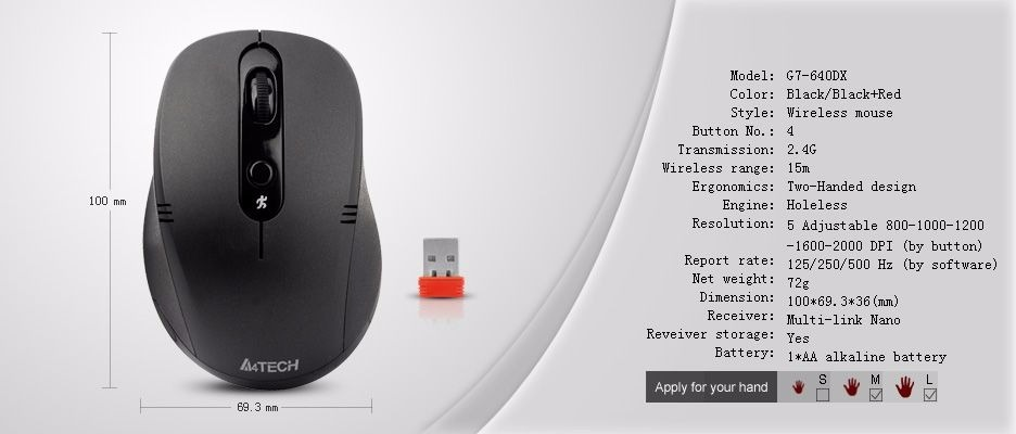 A4TECH G7-640DX MOUSE DRIVERS WINDOWS 7 (2019)