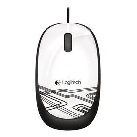 Mouse Com Fio Logitech M105 Branco