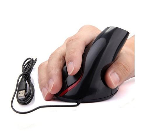 mouse con cable vertical optico ergonomico nuevo sin caja