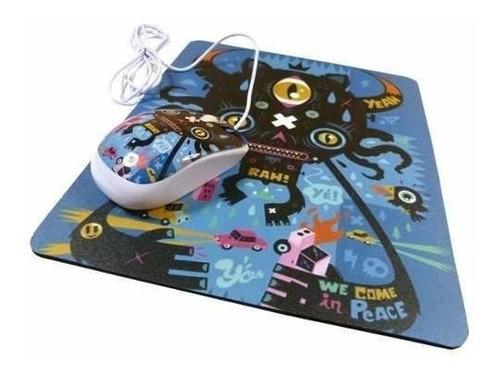 mouse con pad