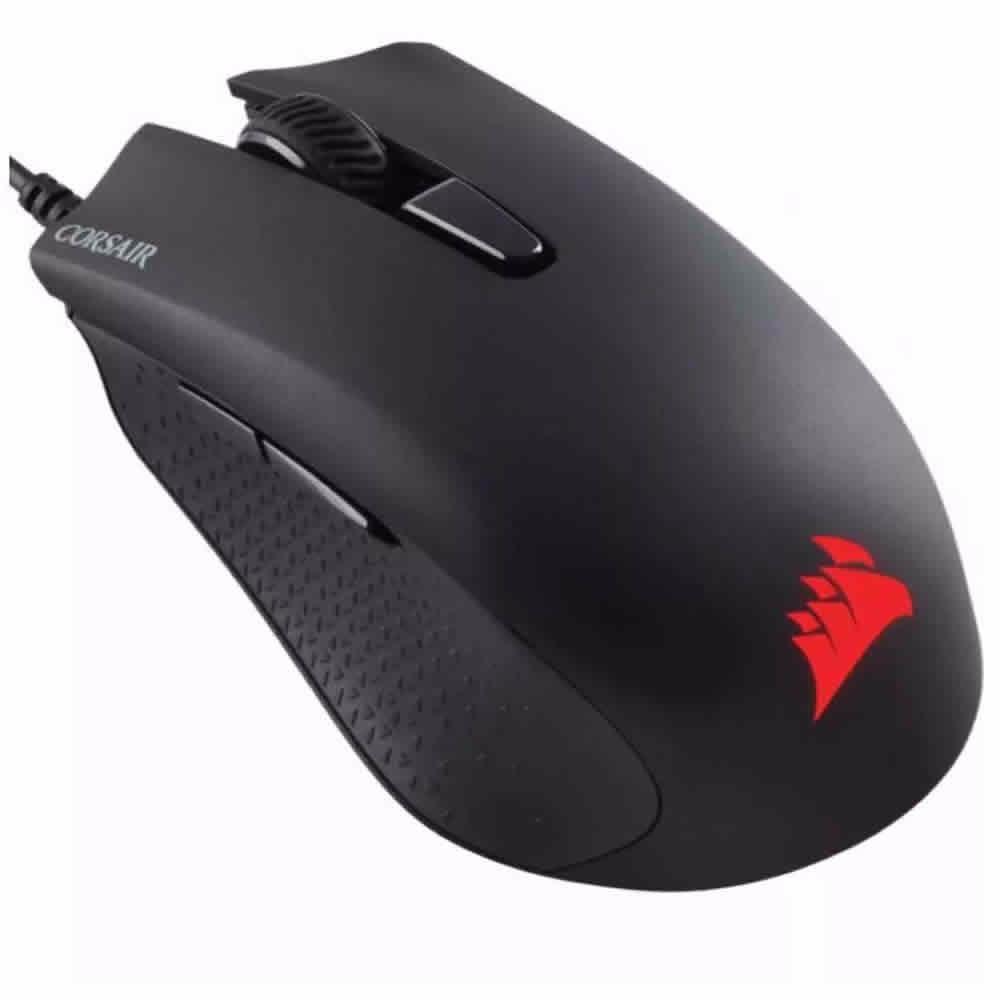 Mouse Corsair Juegos Harpoon Rgb 6000 Dpi