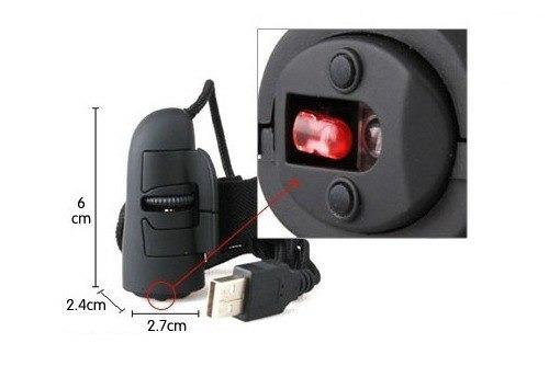 mouse de dedo optico 3d finger mouse para pc o laptop