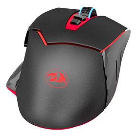 Mouse De Juego Redragon Mirage Negro Y Rojo