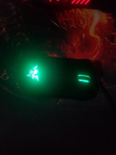 mouse deathadder razer verde