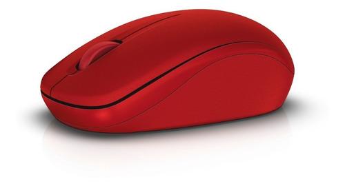 mouse dell inalámbrico modelo wm126 color rojo