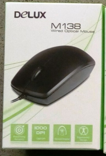 mouse delux m136 inalambrico