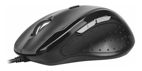 mouse ergonómico delux m620bu con 6 botones, 1000~3200dpi