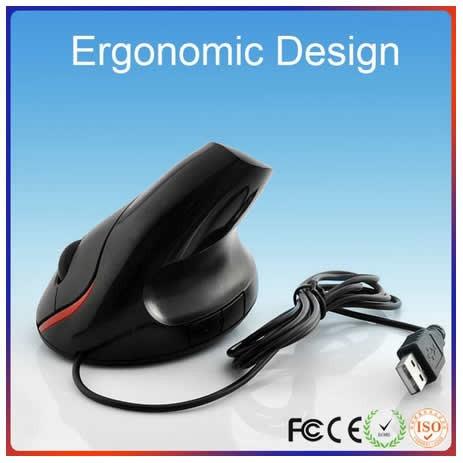 mouse ergonomico - elimine el sindrome del tunel carpiano